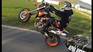KTM 640 LC4 // Wheelie Fail // Alpha Riders