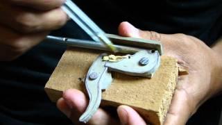 Gatilho Arpão de Madeira - Spearfishing trigger mechanism