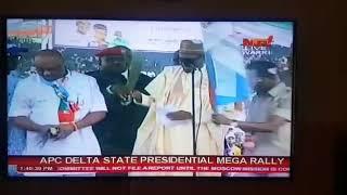 Buhari calls 'Ogboru' APC presidential candidate