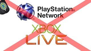 PSN e Xbox LIVE FORA DO AR!