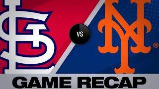 DeJong's homer lifts Cardinals to 4-3 win   Cardinals-Mets Game Highlights 6/16/19