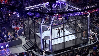 Cómo se construyó la nueva estructura de Elimination Chamber