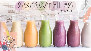 7 Life-Changing HEALTHY SMOOTHIES 🍓 Honeysuckle
