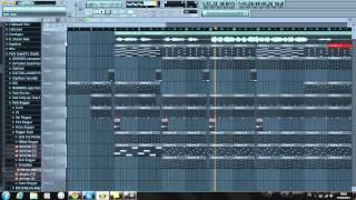 Titanium Reggae sur FL Studio (extrait)