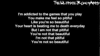 Papa Roach - Not That Beautiful {Lyrics on screen} HD