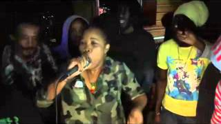 QUEEN IFRICA LIVE   KINGSTON DUB CLUB   01 05 2015