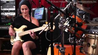 """Pink Panther Theme"" bass cover feat. Tanya O'Callaghan"