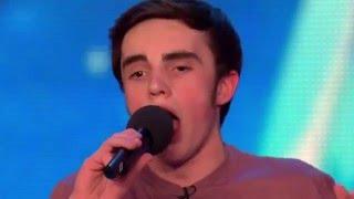 15-Year Old Daniel Has A Voice of Frank Sinatra - Britain's Got Talent - S09E06