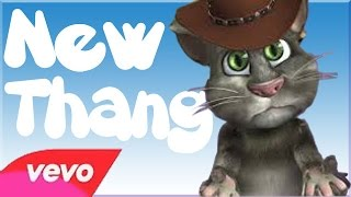 Talking Tom singin New Thang by Redfoo