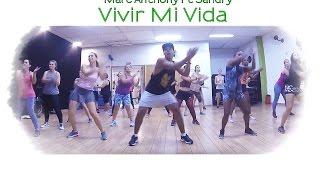 Vivir Mi Vida - Marc Anthony Ft Sandry    Zumba   Prof. Brown Andrade
