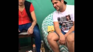 "Jorge cantando Luan Santana ""Cantada"""