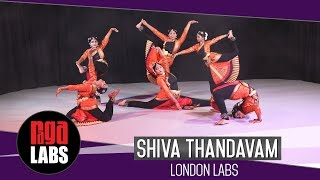 Shiva Tandavam | Bharatanatyam Dance | London Labs
