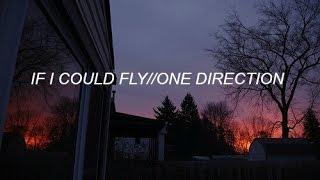 IF I COULD FLY - ONE DIRECTION (LYRICS)