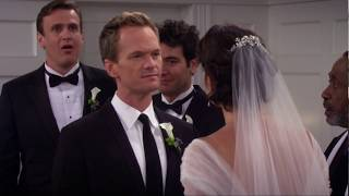 Barney and Robin Wedding [How I Met Your Mother 9x22]