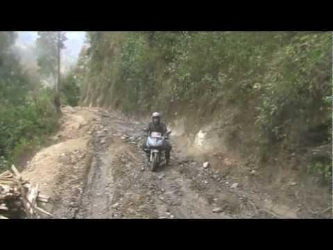 Nepal-Extrem! Teil 2 www.motorbike-tour.com by stephan thiemann