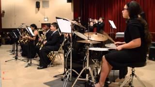 I.S. 318 - Jazz Ensemble (Winter 2014) - Let's Groove