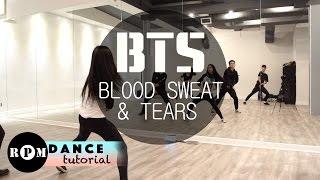 "BTS ""Blood Sweat & Tears"" Dance Tutorial (Chorus)"