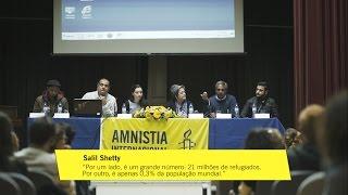"""Conferência """"Quatro Palavras para Solucionar a Crise dos Refugiados"""""""