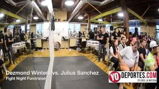 Dezmond Winters vs Julius Sanchez Shot Boxing Club Fight Night Fundraiser