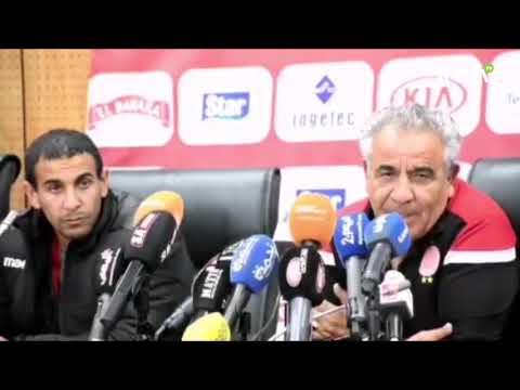 Video : Derby Casablancais : Déclarations d'après match du Wydad