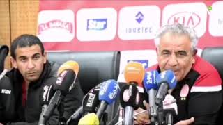 Derby Casablancais : Déclarations d'après match du Wydad