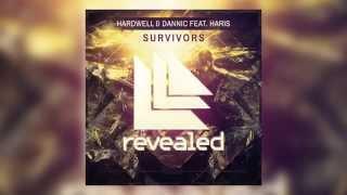 Hardwell & Dannic feat. Haris - Survivors (Cover Art)