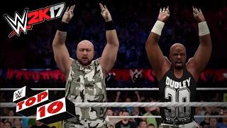 WWE 2K17 Top movimientos extremos en pareja