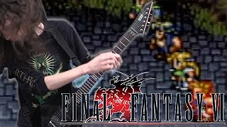 Final Fantasy VI Battle Theme - Metal Cover || ToxicxEternity
