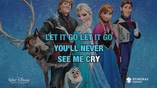 Let It Go - Disney (Frozen) KARAOKE