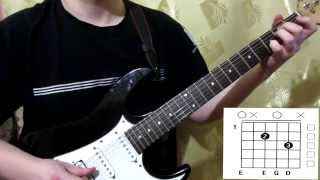 Scorpions House Of Cards(2015) cover how to play guitar lesson