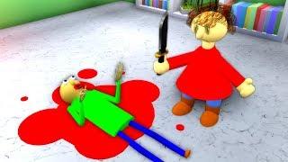 Playtime Kills Baldi (Roblox Animation)