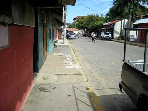 Downtown San Juan Del Sur, Nicaragu.AVI