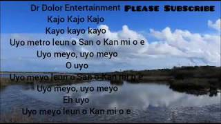Teni Uyo meyo Lyrics video