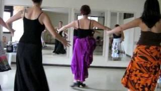Aula de Dança Flamenca - Fandango - Prof. Izabel Moratti