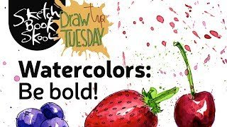 Bold Watercolors