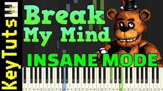 Learn to Play Break My Mind by DAGames - Insane Mode