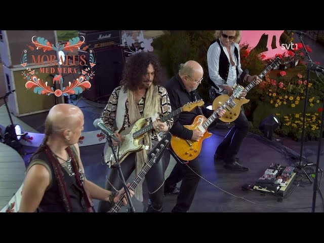 Así suena la banda a día de hoy, recuerda a los mejores Dead Daises o Aerosmith,