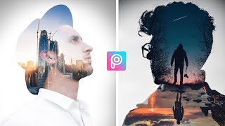 Double Exposure Effect |Picsart Editing Tutorial | Double Exposure picsart