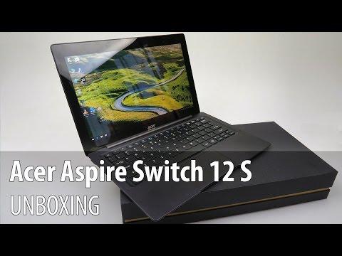Acer Aspire Switch 12 S Video Unboxing în Limba Română (Detașabil de 12.5 inch, cu Windows 10)