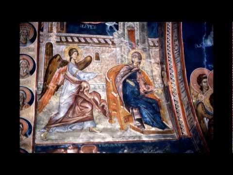 Orthodox Georgia-Georgian  frescoes
