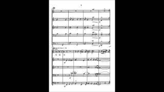 Just a Closer Walk Brass Quintet Score From Canadian Brass