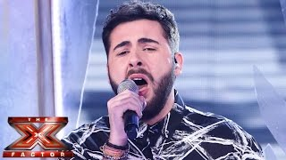 Andrea Faustini sings Miley Cyrus' Wrecking Ball | Live Semi-Final | The X Factor UK 2014