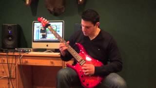 Joe Gareri, Whiplash (Guitar Cover)