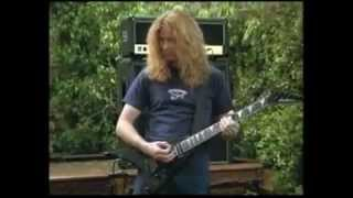 Dave Mustaine (Shocking truth about Dave's first written song funny) 2009 Megadeth