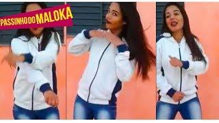 A Menina que parou o facebook dançando Passinho do Maloka Dançando MC LAN