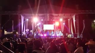 Banda BLC, la danza del Venado en vivo, San juan tepa hidalgo, colonia san antonio feria 2017.