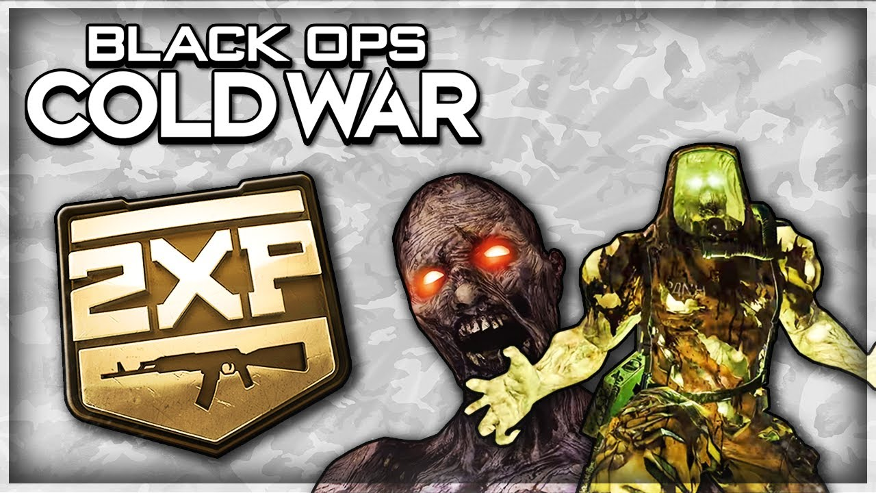 S0ur - Black Ops Cold War: Huge Zombies Weapon XP Buff & Nerf Testing
