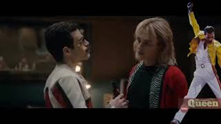 Bohemian Rhapsody Movie- Another one bites the dust scene