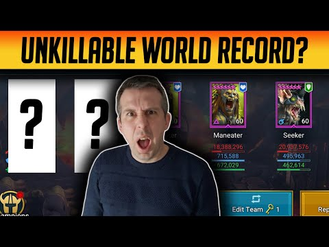CAN I GET THE UNKILLABLE WORLD RECORD CLAN BOSS HIT!   Raid: Shadow Legends