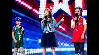 Respect-Aretha Franklin Kids Of Leo (Cover) Australia's Got Talent 2016